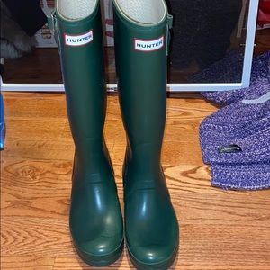 Hunter Green Hunter Boots